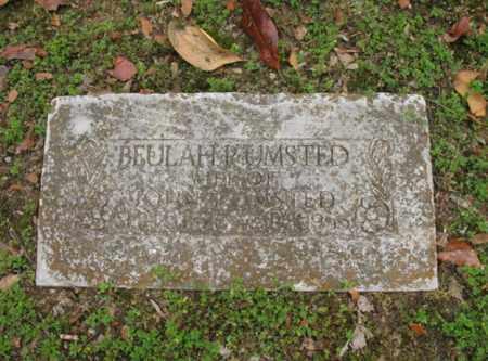 UMSTED, BEULAH P - Jackson County, Arkansas   BEULAH P UMSTED - Arkansas Gravestone Photos