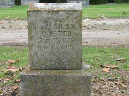 UMSTED, MAMIE E - Jackson County, Arkansas | MAMIE E UMSTED - Arkansas Gravestone Photos