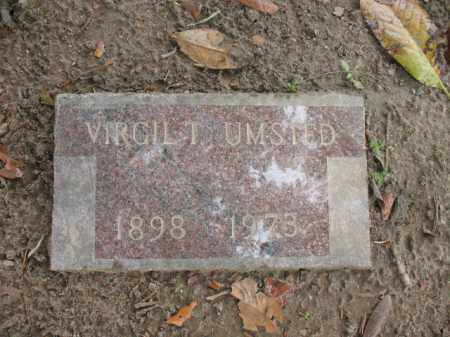 UMSTED, VIRGIL T - Jackson County, Arkansas | VIRGIL T UMSTED - Arkansas Gravestone Photos