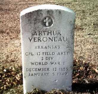 VERONEAU (VETERAN WWI), ARTHUR - Jackson County, Arkansas | ARTHUR VERONEAU (VETERAN WWI) - Arkansas Gravestone Photos