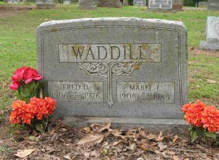 WADDILL, FRED D - Jackson County, Arkansas | FRED D WADDILL - Arkansas Gravestone Photos