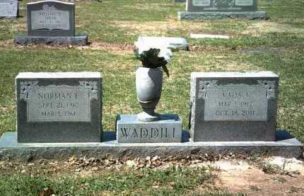 WADDILL, NORMAN F - Jackson County, Arkansas | NORMAN F WADDILL - Arkansas Gravestone Photos