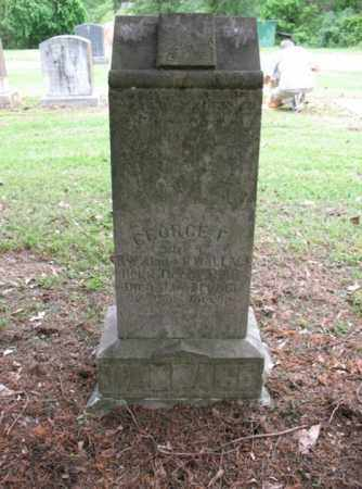 WALLACE, GEORGE F - Jackson County, Arkansas | GEORGE F WALLACE - Arkansas Gravestone Photos