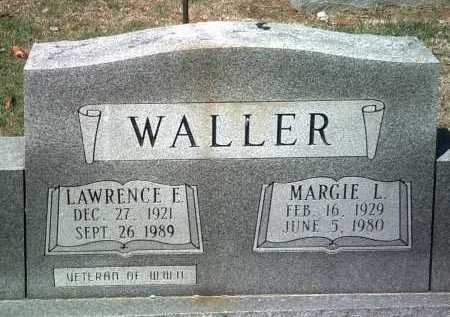 WALLER, MARGIE L - Jackson County, Arkansas | MARGIE L WALLER - Arkansas Gravestone Photos