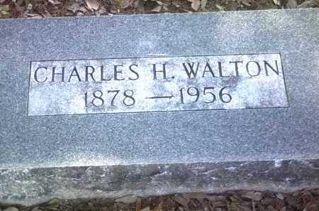 WALTON, CHARLES H - Jackson County, Arkansas | CHARLES H WALTON - Arkansas Gravestone Photos