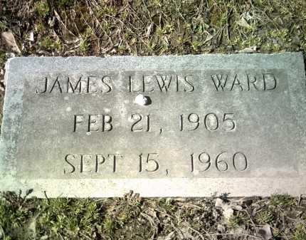 WARD, JAMES LEWIS - Jackson County, Arkansas | JAMES LEWIS WARD - Arkansas Gravestone Photos