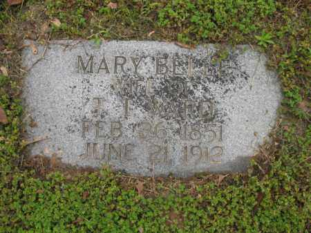 WARD, MARY BELLE - Jackson County, Arkansas | MARY BELLE WARD - Arkansas Gravestone Photos