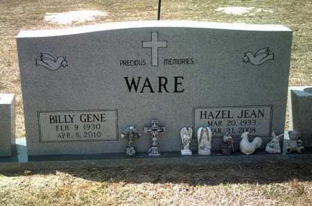 WARE, HAZEL JEAN - Jackson County, Arkansas | HAZEL JEAN WARE - Arkansas Gravestone Photos