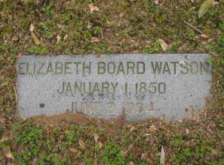 WATSON, ELIZABETH - Jackson County, Arkansas | ELIZABETH WATSON - Arkansas Gravestone Photos
