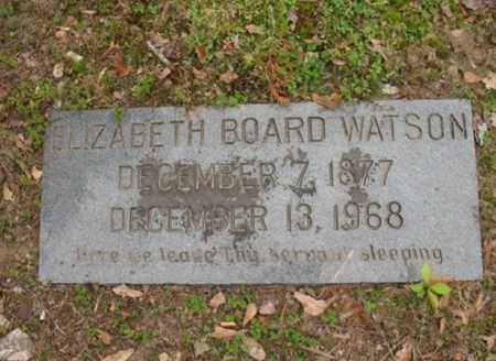 WATSON, ELIZABETH BOARD - Jackson County, Arkansas | ELIZABETH BOARD WATSON - Arkansas Gravestone Photos