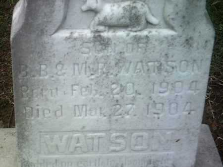 WATSON, INFANT SON - Jackson County, Arkansas | INFANT SON WATSON - Arkansas Gravestone Photos