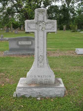 WATSON, O D - Jackson County, Arkansas | O D WATSON - Arkansas Gravestone Photos