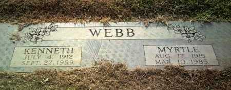 WEBB, KENNETH - Jackson County, Arkansas | KENNETH WEBB - Arkansas Gravestone Photos