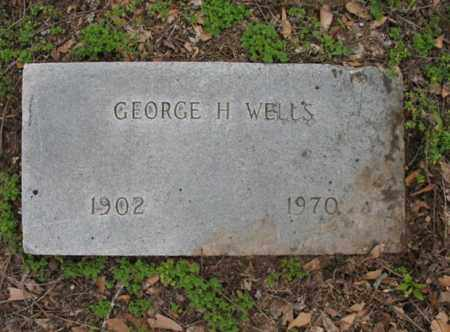 WELLS, GEORGE H - Jackson County, Arkansas | GEORGE H WELLS - Arkansas Gravestone Photos