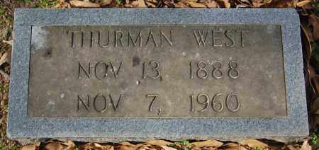 WEST, THURMAN - Jackson County, Arkansas | THURMAN WEST - Arkansas Gravestone Photos
