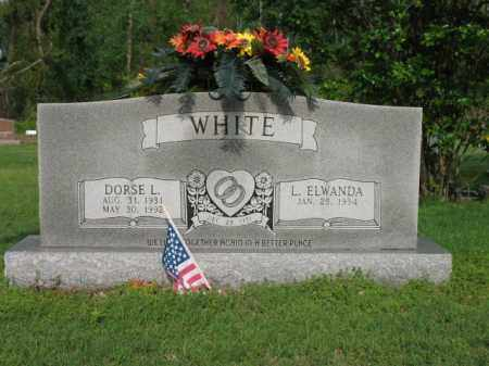 WHITE, DORSE L - Jackson County, Arkansas | DORSE L WHITE - Arkansas Gravestone Photos