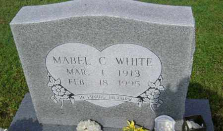 WHITE, MABEL C - Jackson County, Arkansas | MABEL C WHITE - Arkansas Gravestone Photos