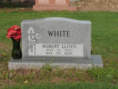 WHITE, ROBERT LLOYD - Jackson County, Arkansas | ROBERT LLOYD WHITE - Arkansas Gravestone Photos