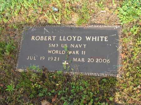 WHITE (VETERAN WWII), ROBERT LLOYD - Jackson County, Arkansas | ROBERT LLOYD WHITE (VETERAN WWII) - Arkansas Gravestone Photos