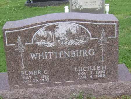 WHITTENBURG, LUCILLE H - Jackson County, Arkansas | LUCILLE H WHITTENBURG - Arkansas Gravestone Photos