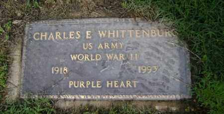 WHITTENBURG (VETERAN WWII), CHARLES ELMER - Jackson County, Arkansas | CHARLES ELMER WHITTENBURG (VETERAN WWII) - Arkansas Gravestone Photos