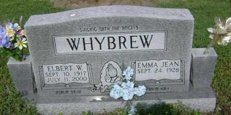 WHYBREW, ELBERT W - Jackson County, Arkansas | ELBERT W WHYBREW - Arkansas Gravestone Photos