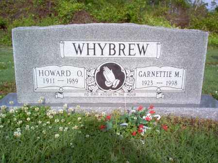 WHYBREW, HOWARD O - Jackson County, Arkansas | HOWARD O WHYBREW - Arkansas Gravestone Photos