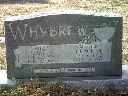 WHYBREW, GRACE H - Jackson County, Arkansas | GRACE H WHYBREW - Arkansas Gravestone Photos