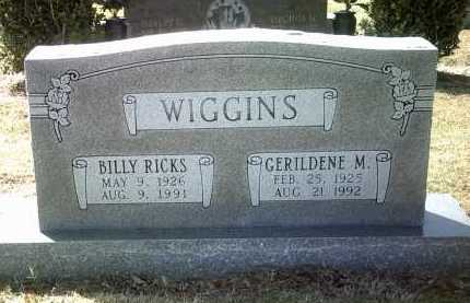 WIGGINS, GERILDENE M - Jackson County, Arkansas | GERILDENE M WIGGINS - Arkansas Gravestone Photos