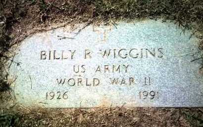 WIGGINS (VETERAN WWII), BILLY RICKS - Jackson County, Arkansas | BILLY RICKS WIGGINS (VETERAN WWII) - Arkansas Gravestone Photos