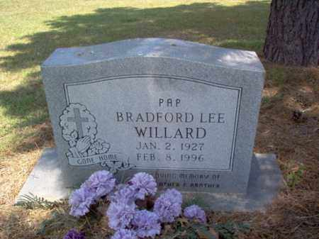 WILLARD, BRADFORD LEE - Jackson County, Arkansas | BRADFORD LEE WILLARD - Arkansas Gravestone Photos