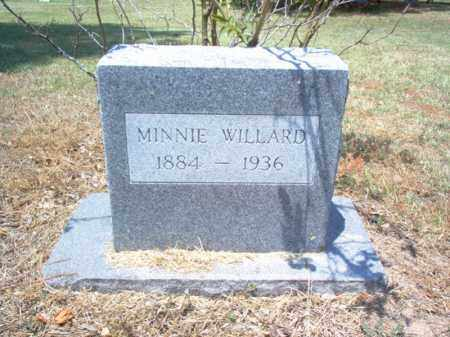 WILLARD, MINNIE - Jackson County, Arkansas | MINNIE WILLARD - Arkansas Gravestone Photos