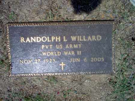 WILLARD (VETERAN WWII), RANDOLPH L - Jackson County, Arkansas | RANDOLPH L WILLARD (VETERAN WWII) - Arkansas Gravestone Photos