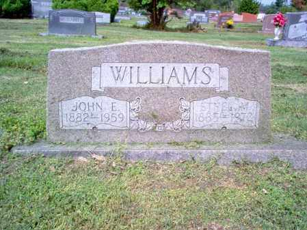 WILLIAMS, JOHN E - Jackson County, Arkansas | JOHN E WILLIAMS - Arkansas Gravestone Photos