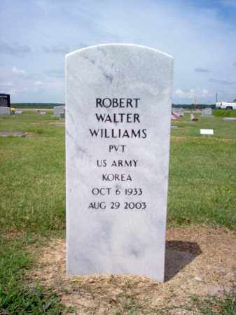 WILLIAMS (VETERAN KOR), ROBERT WALTER - Jackson County, Arkansas | ROBERT WALTER WILLIAMS (VETERAN KOR) - Arkansas Gravestone Photos