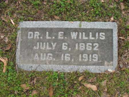 WILLIS, DR, L E - Jackson County, Arkansas | L E WILLIS, DR - Arkansas Gravestone Photos