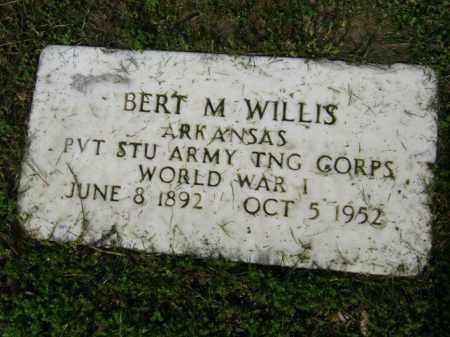 WILLIS (VETERAN WWI), BERT M - Jackson County, Arkansas | BERT M WILLIS (VETERAN WWI) - Arkansas Gravestone Photos