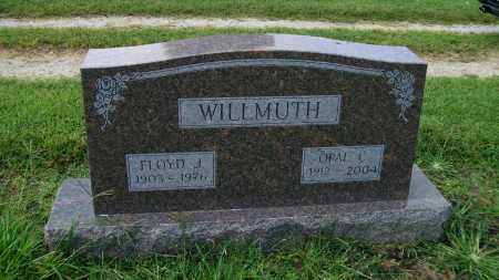 WILLMUTH, FLOYD JESSIE - Jackson County, Arkansas | FLOYD JESSIE WILLMUTH - Arkansas Gravestone Photos