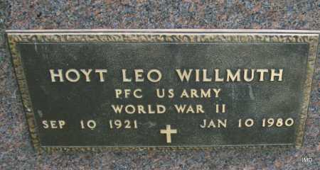 WILLMUTH (VETERAN WWII), HOYT LEO - Jackson County, Arkansas | HOYT LEO WILLMUTH (VETERAN WWII) - Arkansas Gravestone Photos