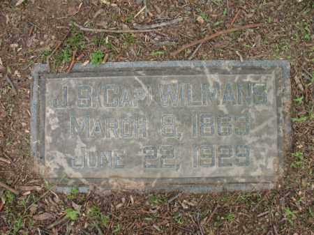 "WILMANS, J S  ""CAP"" - Jackson County, Arkansas | J S  ""CAP"" WILMANS - Arkansas Gravestone Photos"