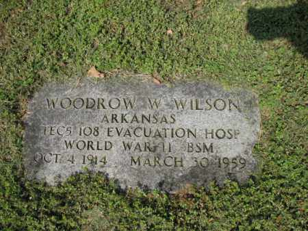 WILSON (VETERAN WWII), WOODROW W - Jackson County, Arkansas | WOODROW W WILSON (VETERAN WWII) - Arkansas Gravestone Photos