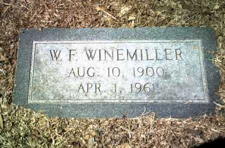 WINEMILLER, W F - Jackson County, Arkansas | W F WINEMILLER - Arkansas Gravestone Photos