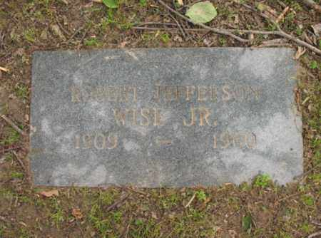 WISE, JR, ROBERT JEFFERSON - Jackson County, Arkansas | ROBERT JEFFERSON WISE, JR - Arkansas Gravestone Photos