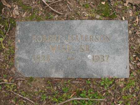 WISE, SR, ROBERT JEFFERSON - Jackson County, Arkansas | ROBERT JEFFERSON WISE, SR - Arkansas Gravestone Photos