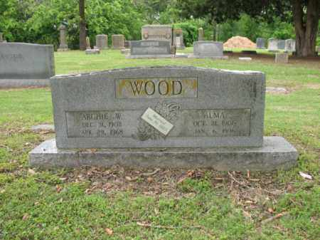 WOOD, ARCHIE W - Jackson County, Arkansas | ARCHIE W WOOD - Arkansas Gravestone Photos