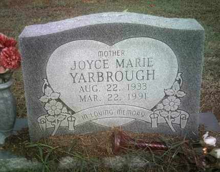 YARBROUGH, JOYCE MARIE - Jackson County, Arkansas | JOYCE MARIE YARBROUGH - Arkansas Gravestone Photos