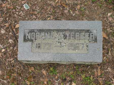 YERGER, NORENE J - Jackson County, Arkansas | NORENE J YERGER - Arkansas Gravestone Photos