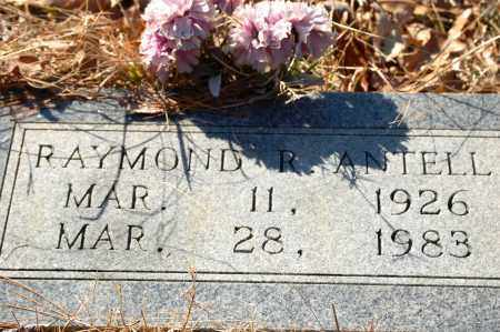 ANTELL, RAYMOND R. - Jefferson County, Arkansas | RAYMOND R. ANTELL - Arkansas Gravestone Photos