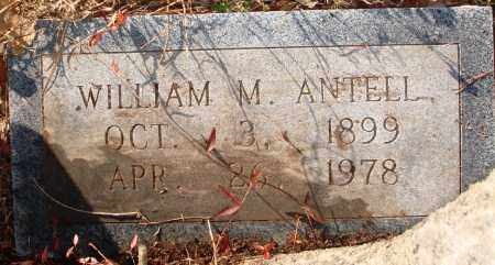 ANTELL, WILLIAM M - Jefferson County, Arkansas | WILLIAM M ANTELL - Arkansas Gravestone Photos