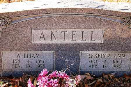 ANTELL, REBECCA ANN - Jefferson County, Arkansas | REBECCA ANN ANTELL - Arkansas Gravestone Photos